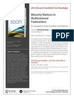 Book_Minority Nations in Multinational Federations