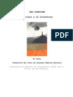 Xingjian, Gao - En Torno a La Literatura
