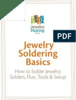 Soldering Jewelry Tutorial by JewelryMakingDaily.com