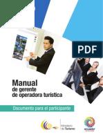 Manual Gerente de Operadora