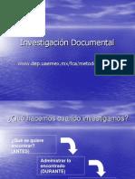 Investigación Documental Definición y Formas