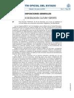 RD Enseñanzas Mínimas ESO y Bachillerato LOMCE
