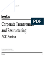 corp restructuring