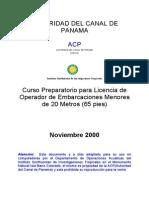 Manual Acp Esp