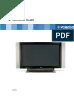Manual de Servicio Tv Plasma Polariod - PLA 4205