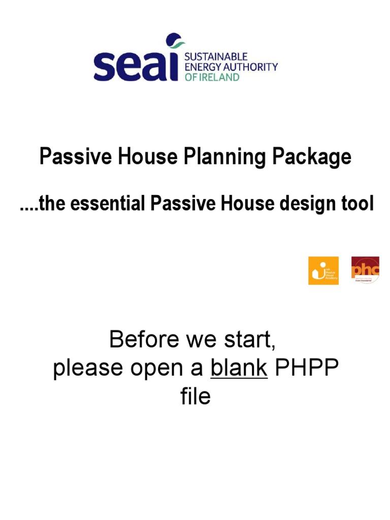 PHPP Workshop Presentation   Window   Ventilation (Architecture)
