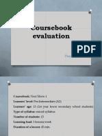 coursebook evaluation 1