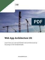Web App Architecture 101