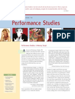 Peformance Studies