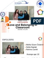 Love and Belonging in Classroom