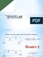 Elektronik 1 - Bütün Konulardan Çözülmüş Örnek Sorular