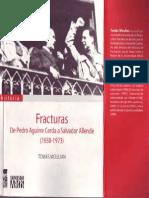 Moulian, Tomás - Fracturas. de Pedro Aguirre a Salvador Allende (1938-1973) [2006]
