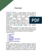 Sindromul Asperger