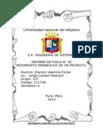 Informe N 02 Fisica01