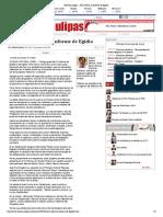 30-12-14 HoyTamaulipas - Auto crítico, el informe de Egidio