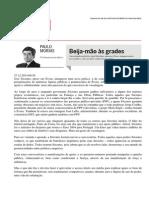 Paulo Morais_Beija-mão Às Grades