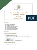 European Business Law - Module 1 - Reading Materials