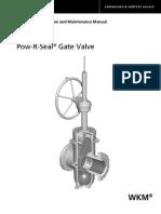 Wkm Pow r Seal Gate Valve Iom