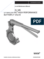 Wkm Model Mb Dynacentric High Performance Butterfly Valve Iom