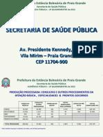 Audiencia Publica SESAP2 Quadrimestre 2012