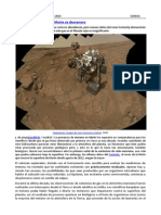 Metano en Marte y Prensa