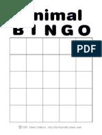 Animal Bingo