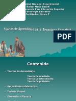 Teoria Del Aprendizaje en La Tecnologia Educativca