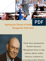 Exploring the Theories of Positive Classroom Management