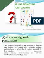 Uso de Los Signos de Puntuacin