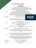 Estimación de Costos 2014-II