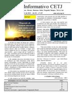Informativo Mensal CETJ JANEIRO 2015