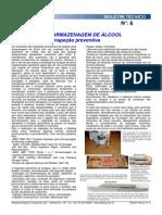 Tanques de Armazenagem de alcool