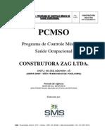 Pcmso Construtora Zag - Oliveira 2013