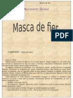 Alexandre Dumas - Masca de fier.odt