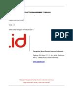 2. Kebijakan Pendaftaran Nama Domain (Versi 2.0)