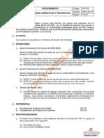 P21-04 Acciones Correctivas y Preventivas VER 06, referencia iso 9000-2005.pdf