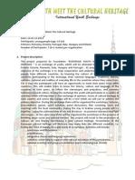 Culrural Heritage - Info Pack