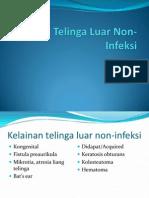 Kelainan Telinga Luar Non-Infeksi