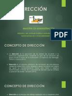 Dirección Conceptos Basicos