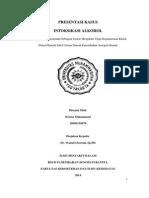 Intoksikasi Alkohol (Edited)
