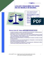 Como Calcular o Equilibrio Do Caixa_metodo Baumol