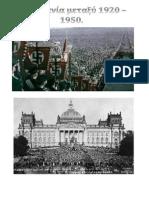 1920 - 1950