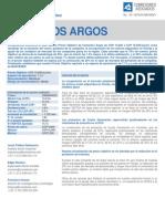 Actualización Precio Objetivo 20147161