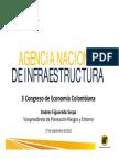 Luis Fernando Andrade Cuarta Generacion de Concesiones Viales