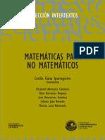 Matematica Para No Matematicos