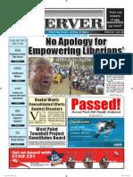 Liberian Daily Observer 04/09/2014