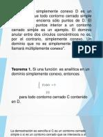 Regiones Simple y Multiplemente Conexas - Presentacion