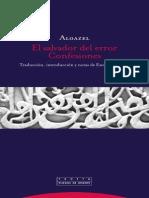 Algazel - El Salvador Del Error. Confesiones
