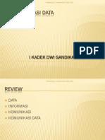 KOMUNIKASI DATA - Model Komunikasi