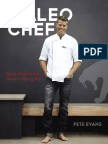 The Paleo Chef by Pete Evans - Recipes